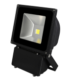 LED flood light black housing 80W