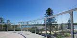 Aluminum Slot Glass Railing installed in Australia