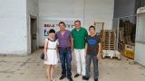 Germany customer visit Ningbo bestway magnet