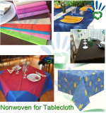 pp nonwoven fabric for tablecloth