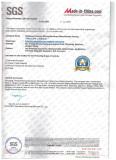 SGS Certificate 2016