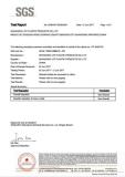 PP sheet food grade EU standard SGS report