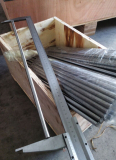 Linear shaft package with wooden case