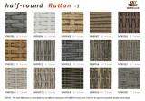 Half Round Rattan -1