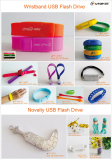 Wristband and Novelty USB Flash Drive