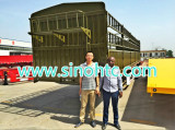 Nigeria Clients Purchasing semi trailer
