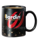 11oz Printed Color Glaze Coffee Mugs(TM1808D)
