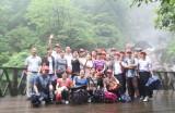In 2013.7 Summer Tour to Huangguoshu Waterfalls on GuiZhou China