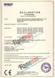 CE Certificate for Flamemax Griddle