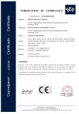 CE certificate for welding positioner