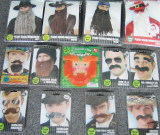 Plush Beards and Mustaches