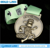 Custom Metal Medal Marathon Running Race Medallion