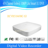 DAHUA Smart Video Recorder 4/8CH Tribrid 720P-Pro Smart 1U HDCVI DVR HCVR5104C-S3