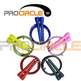 Double Under Super Fast Bearing Speed Cable Jump Rope (PC-JR1007)