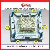 Tomato crate mould design from Taizhou huangyan caozhen mould Co.,ltd