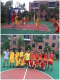 Baldor holds a basketball game competition with its branch company XDS