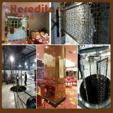 The Metal Screens in Zhongshan Xiaolan Hotel installed