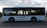 SC6105 Semi Low floor city bus 40seats 45seats