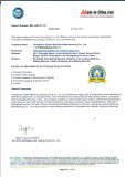 TUV certification report