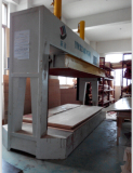 wooden veneer press machine