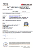 2016 SGS Certification
