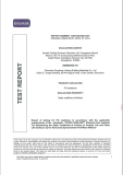 static coefficient of friction test report