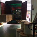 Colombian customers buy tape coating machine