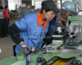 Worker was operating the machine