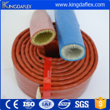 Hydraulic Hose Used Colorful High Temperature Silicone Coated Fiberglass Sleeve