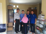 Visit our customers in his office in Indonesia