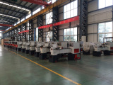 Flat Bed CNC Lathe Workshop