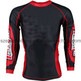 custom men sublimatin rash guard