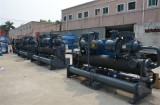 Water Cooled Screw Chiller Assembling Production Area
