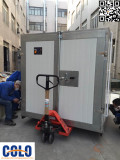 Loading-Powder coating oven to Customer