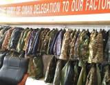 Oman Army Delegation Visited our Military Uniform Factory
