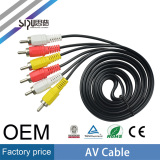 high quality 3rca to 3rca av cable