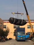 Qingdao ARD 3.3x6.5m pneumatic rubber fenders served for Taiwan ocean ship