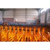Conveyor idler/roller set paiting machine