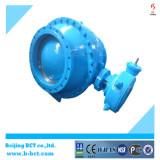 Eccentric ball valve showing