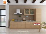 Modern Wood Kitchen Cabinet