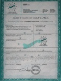CE Certificate Of Warehouse Rack