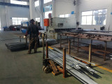 Steel plate processing zone