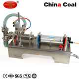 Single Head Liquid Soft Drink Pneumatic Filling Machine