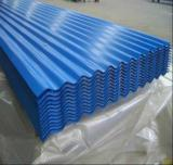 Blue Coated Corruagated Steel Roofing Sheet/PPGI Metal Roofing Sheet