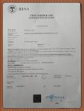 Rina certifiacte