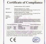 CE certificate for GALERMIC car alarm system