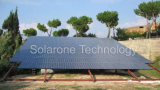 Grid-Tied Solar Power System for Industrial Use 20,8kWp