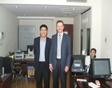 Germany Customer Visited our company for Police Equipment order