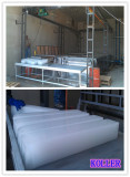 Project in West Africa (25tons per day ice block machine + cold room)