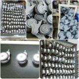 Medical caster production line